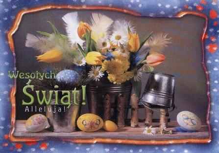 Поздравление поляков с пасхой
